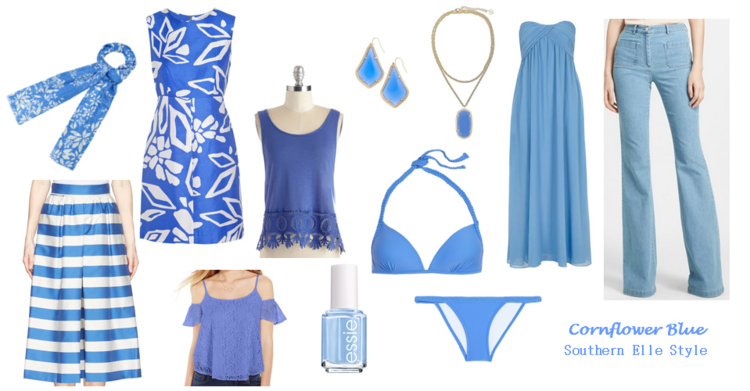 pantone, serenity, cornflower blue, j crew, dolce vita haku booties, tunic, ocean