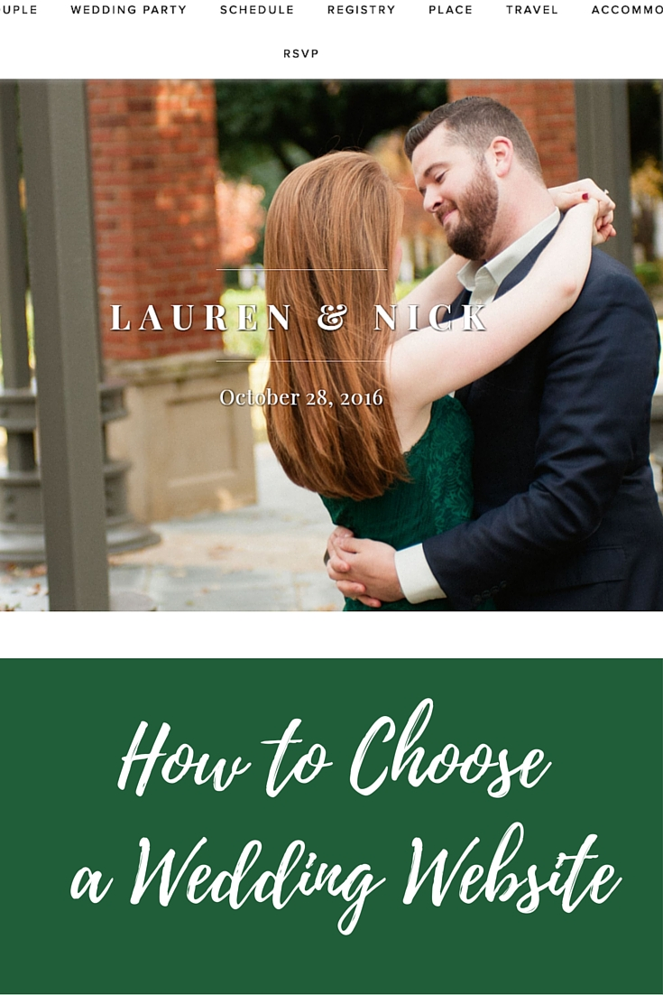 how to choose a wedding website, what wedding website should i use, riley and grey, wedding website platform, engaged
