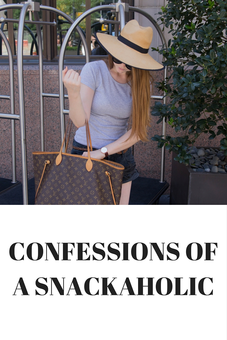 confessions of a snackaholic, bcbg hat, one teaspoon bandits, louis vuitton neverfull gm, cheerios multi grain with ancient grains