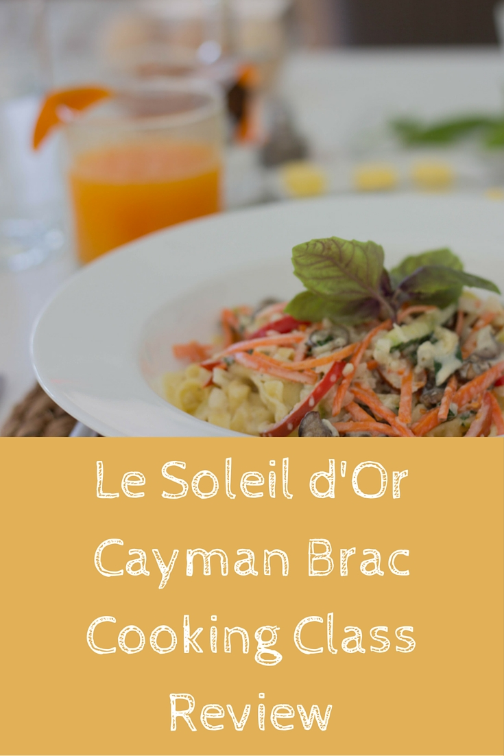 le soleil d'or, cayman brac, cayman islands, cooking class, farm to table, sea to table, where to stay in cayman islands, caribbean resort