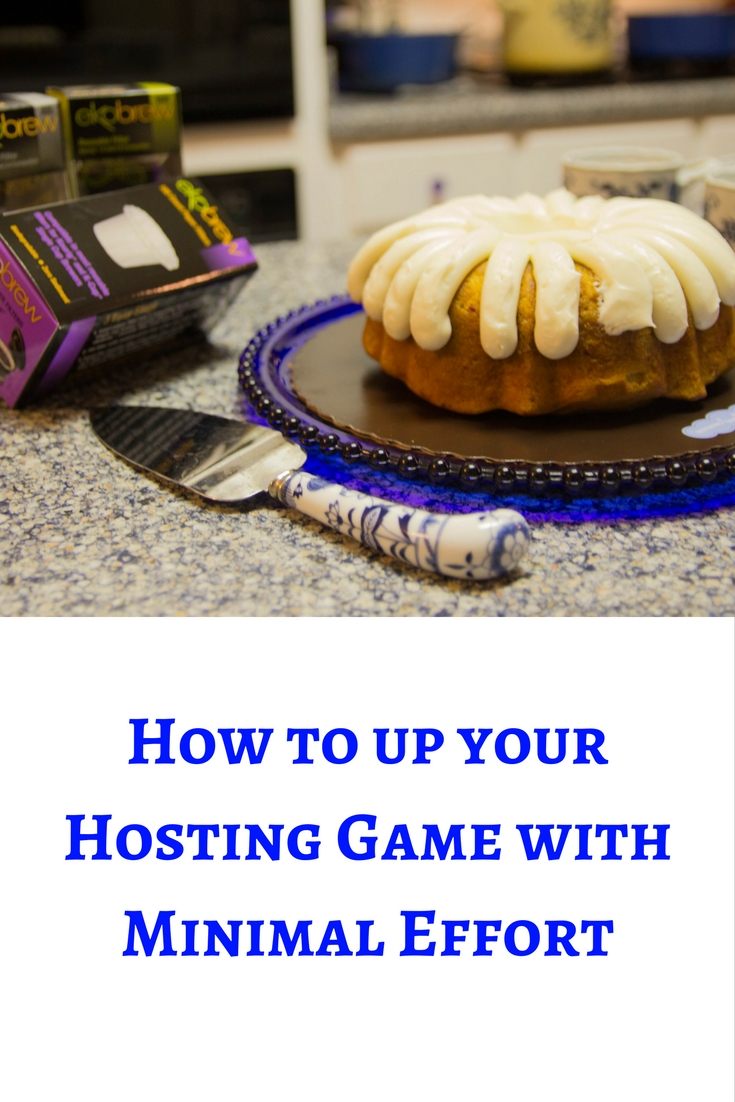 how to up your hosting game with minimal effort, ekobrew, coffee, k-cup, walmert, keurig, nothing bundt cakes
