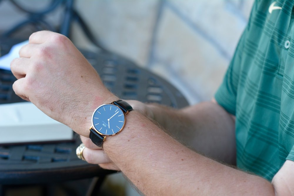daniel wellington, black watch, the castle at rockwall, discount code, what to get your husband as a wedding gift, wedding gift ideas