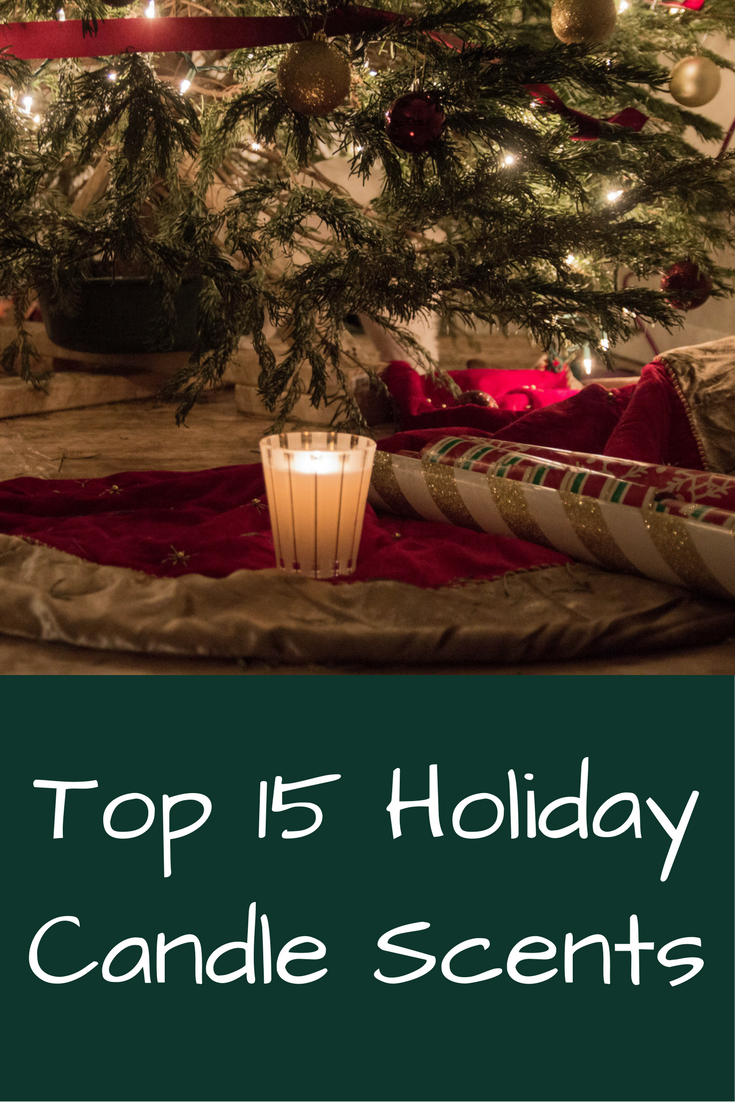 the best holiday candle scents, how to keep that holiday feeling, well after christmas, nest holiday candle, rewined wine under the tree candle, benjamin soap co. pumpkin spice candle, top 15 holiday candle scents