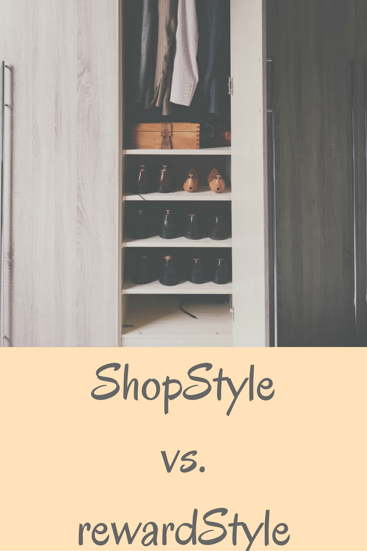 what is the difference between shopstyle and rewardstyle, affiliate commission for blogs, how to make money from a blog