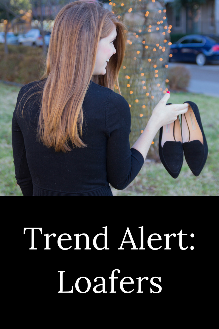 trend alert, loafers, topshop ribbed fit and flare dress, kristen cavallari chandy loafers, chinese laundry, loafer guide, black suede loafers, kendra scott jewelry