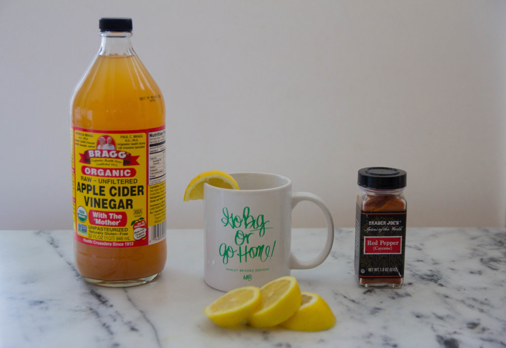 how to prevent a sinus infection, how i prevented a sinus infection last year, apple cider vinegar, ACV drink, lemons, young living essential oils, thieves, RC, humidifier, sleep, ashley brooke designs, go big or go home mug