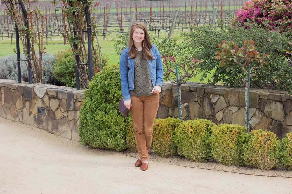 cliff lede, abercrombie sweater, levi's sweater, tips for wine  tasting in napa valley, sonoma, napa, visit california, wine tasting tips, san francisco, oakland,