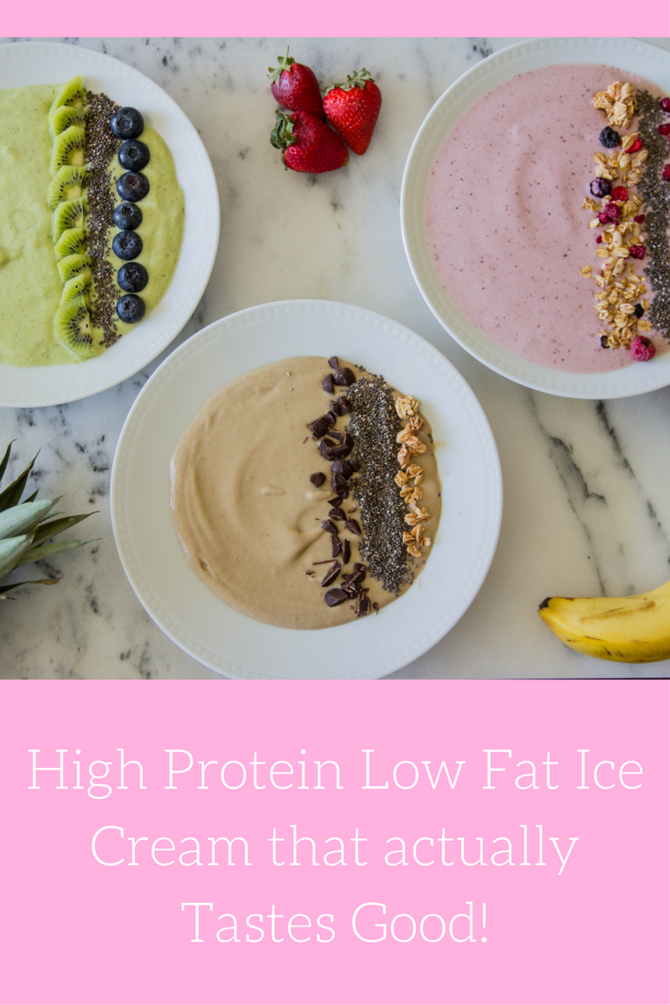 #AD, proyo high protein low fat ice cream that actually tastes good, smoothie bowls,  acai bowls, recipes, eating ice cream for breakfast