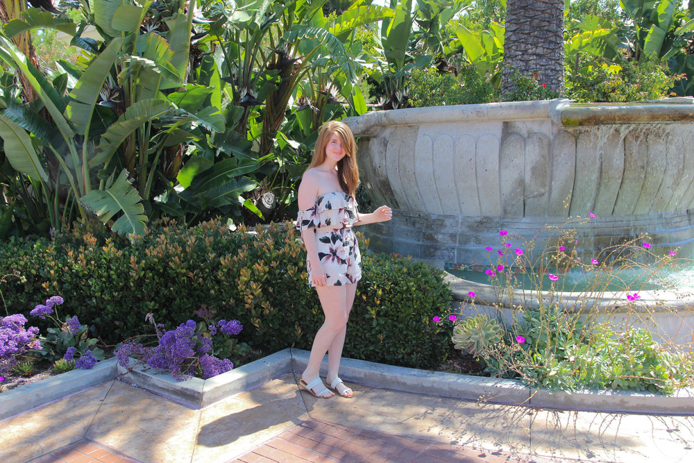 monarch beach resort, laguna beach, weekend in laguna beach, travel guide. what to do in laguna beach. american eagle romper