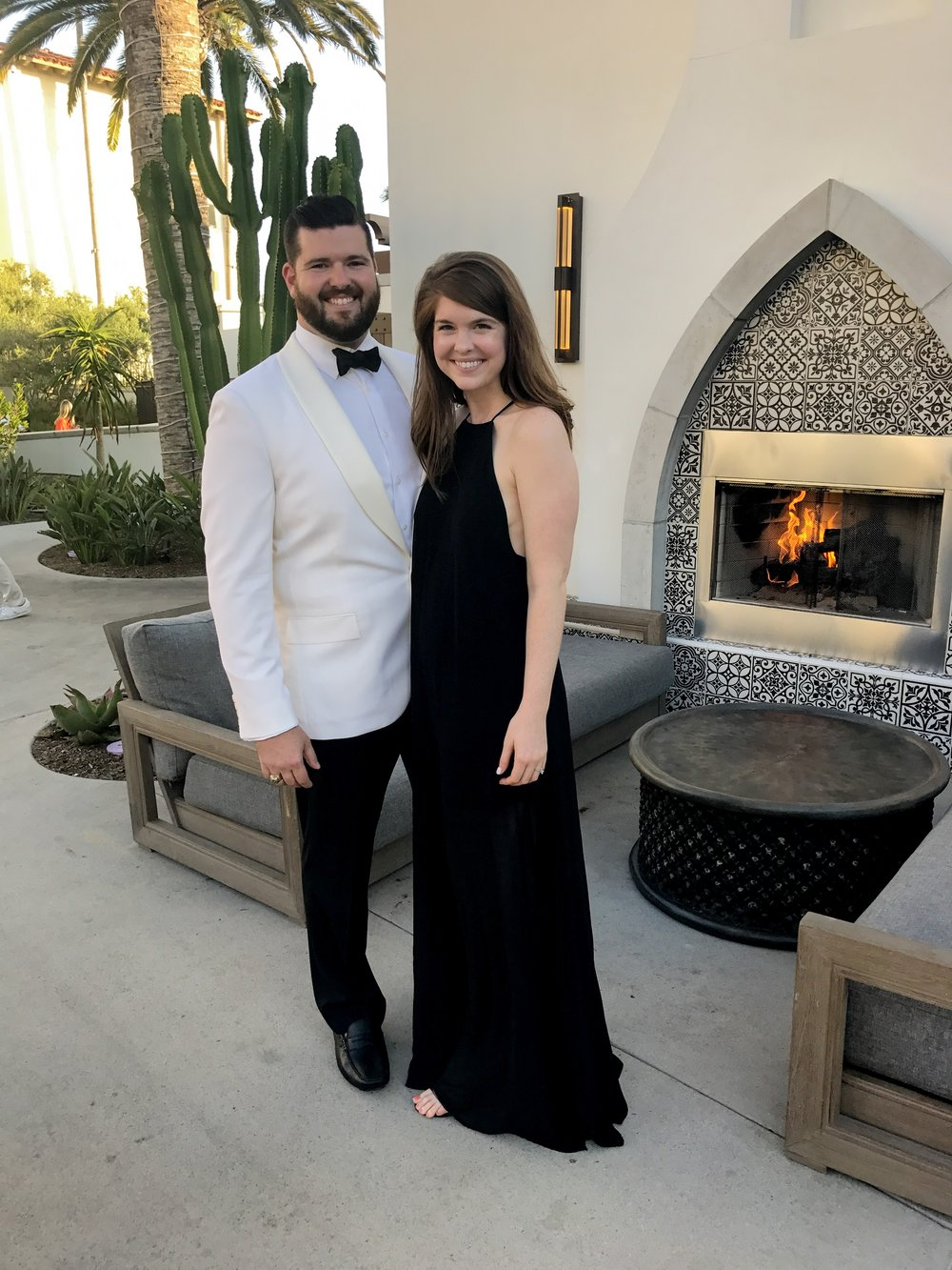 where to stay in laguna beach, laguna beach resorts, laguna beach hotels, monarch beach resort, dana point, visit california, j crew cream dinner jacket, show me your mumu bronte maxi dress