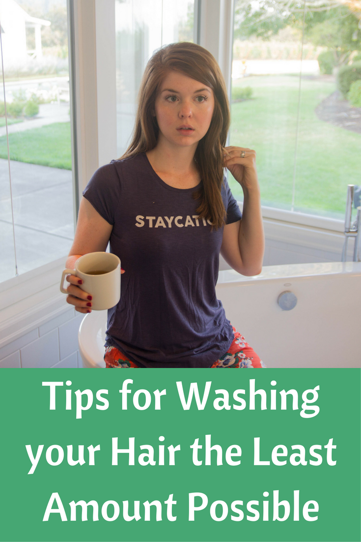 tips for washing your hair the least amount possible, atthejoy, aerie, aerie real, hair care
