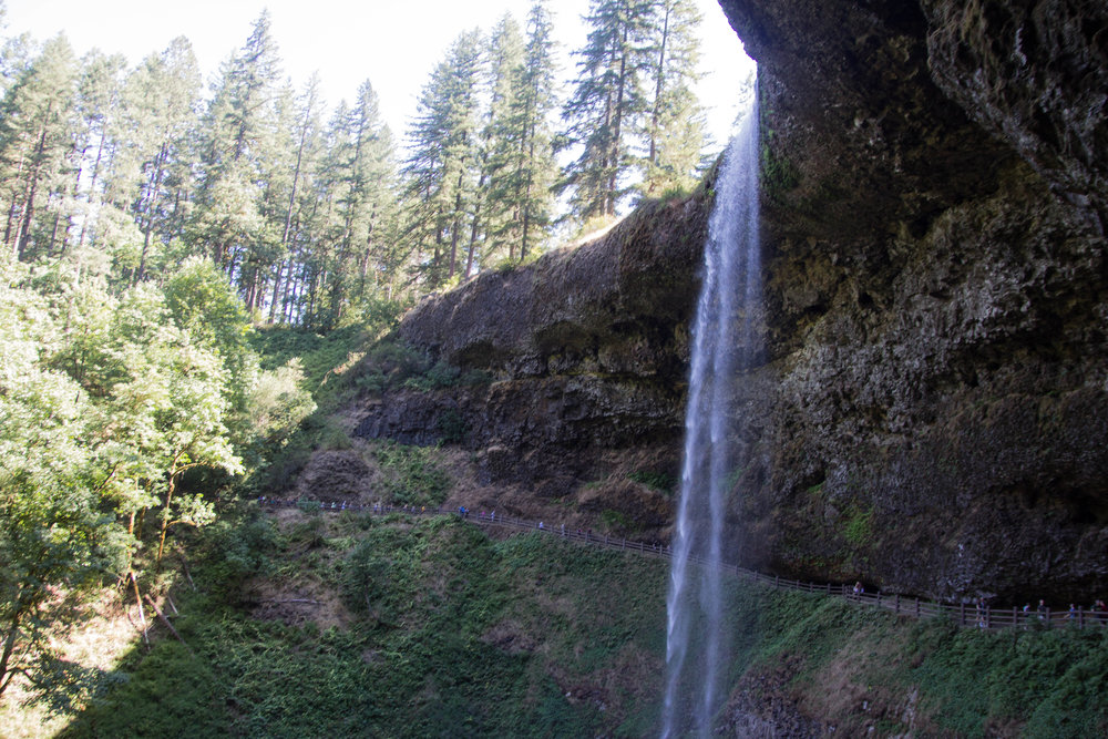 travel guide what to do in the willamette valley, salem, oregon, silver falls, oregon waterfalls