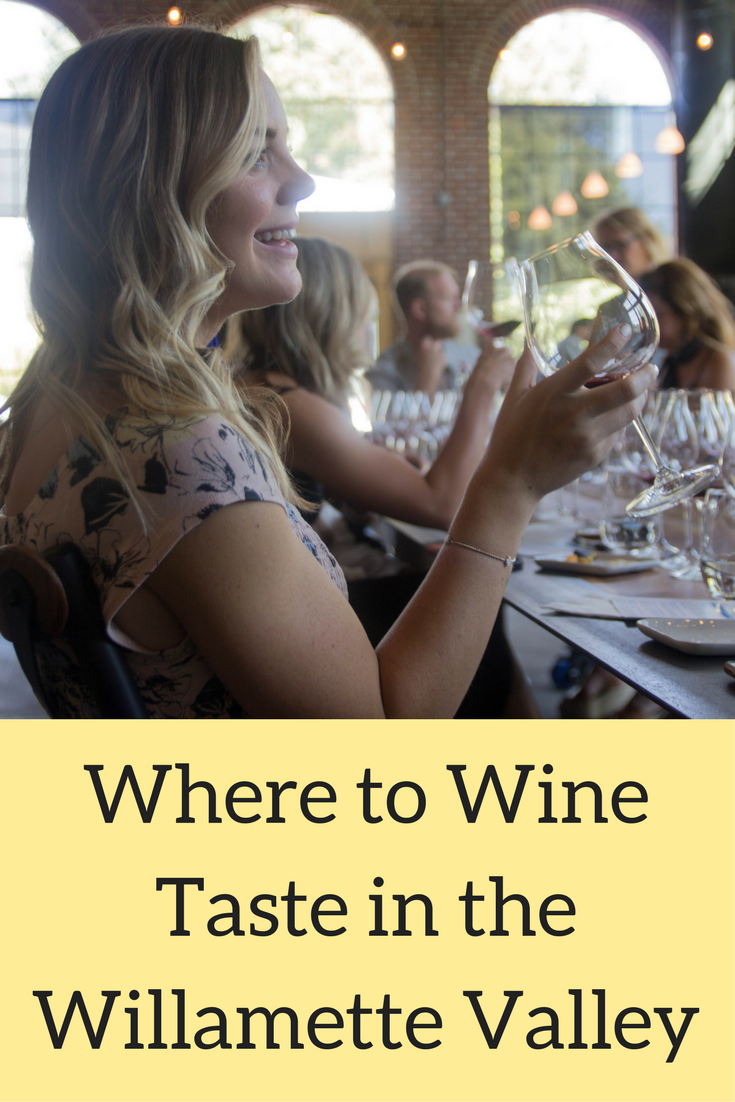 where to wine taste in the willamette valley, oregon, wine tasting, elizabeth chambers cellar, pinot noir, left coast cellar, momtazi, maysara