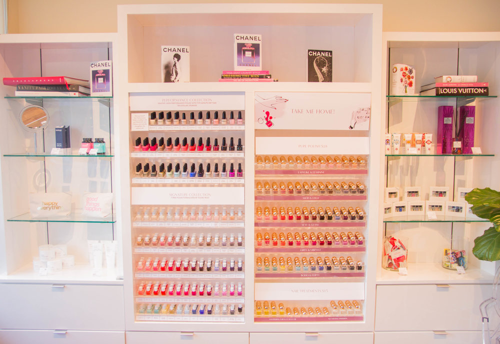 MiniLuxe, Where to get your nails done in Dallas, cleanest nail salons, cruelty free, where to get your eyebrows waxed in dallas, dallas blogger, ellespann, her campus media, lments of style