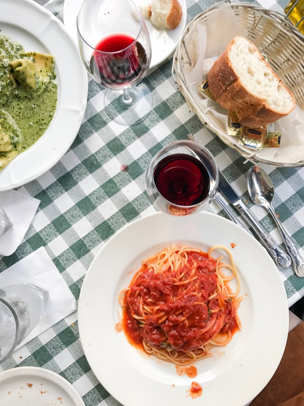 where to eat and drink in new york city, nyc, food recommendations, trattoria spagetto