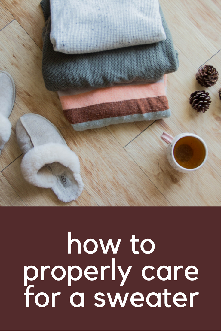 how to properly care for a sweater, sweater care tips, ugg scuffette slippers, sweater weather, tips