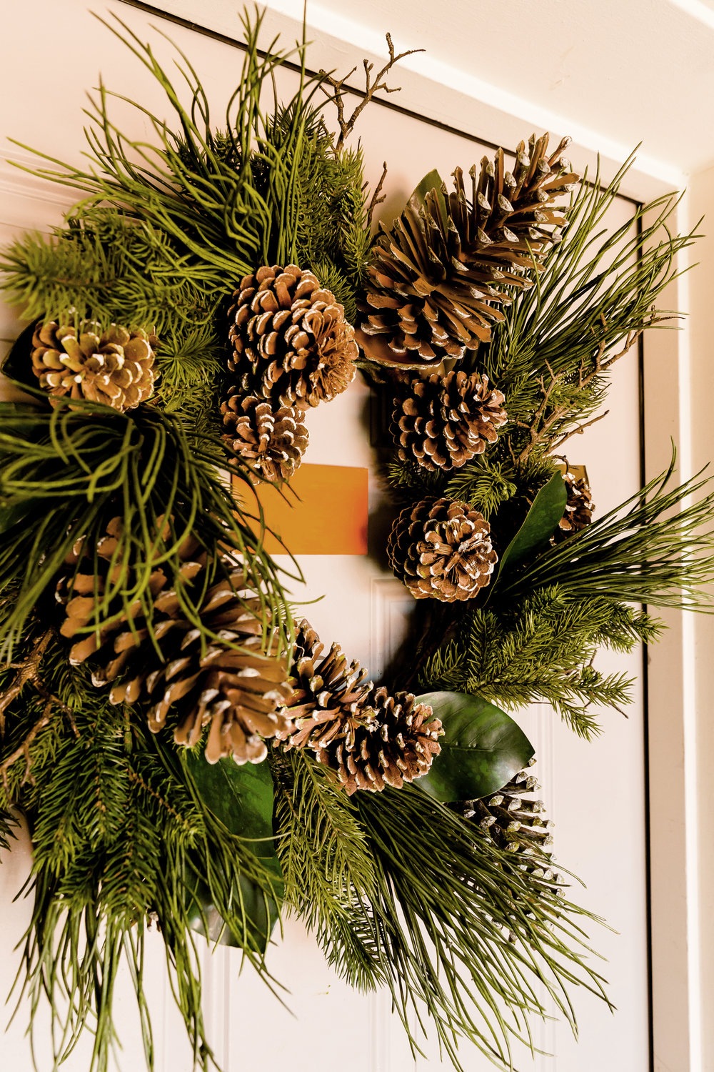 madison katlin photography, christmas central wreath