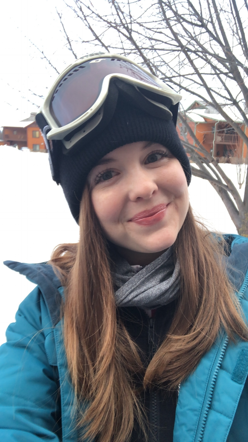 ski tips for beginners, ski whitefish, whitefish mountain resort, montana, what to expect for your first time skiing, rihanna glossbomb universal lipgloss