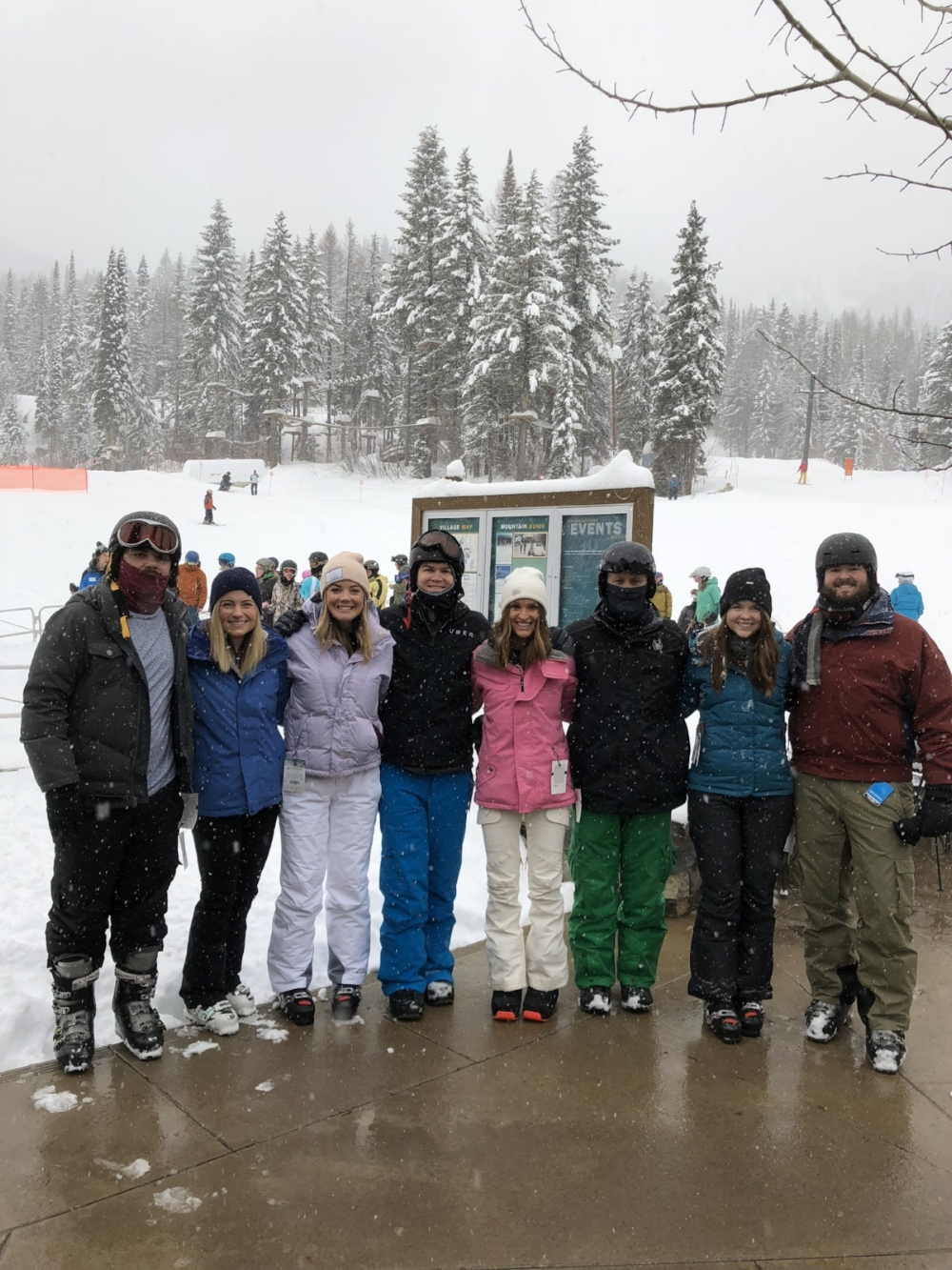 ski tips for beginners, ski whitefish, whitefish mountain resort, montana, what to expect for your first time skiing, kami blease, lauren kay sims