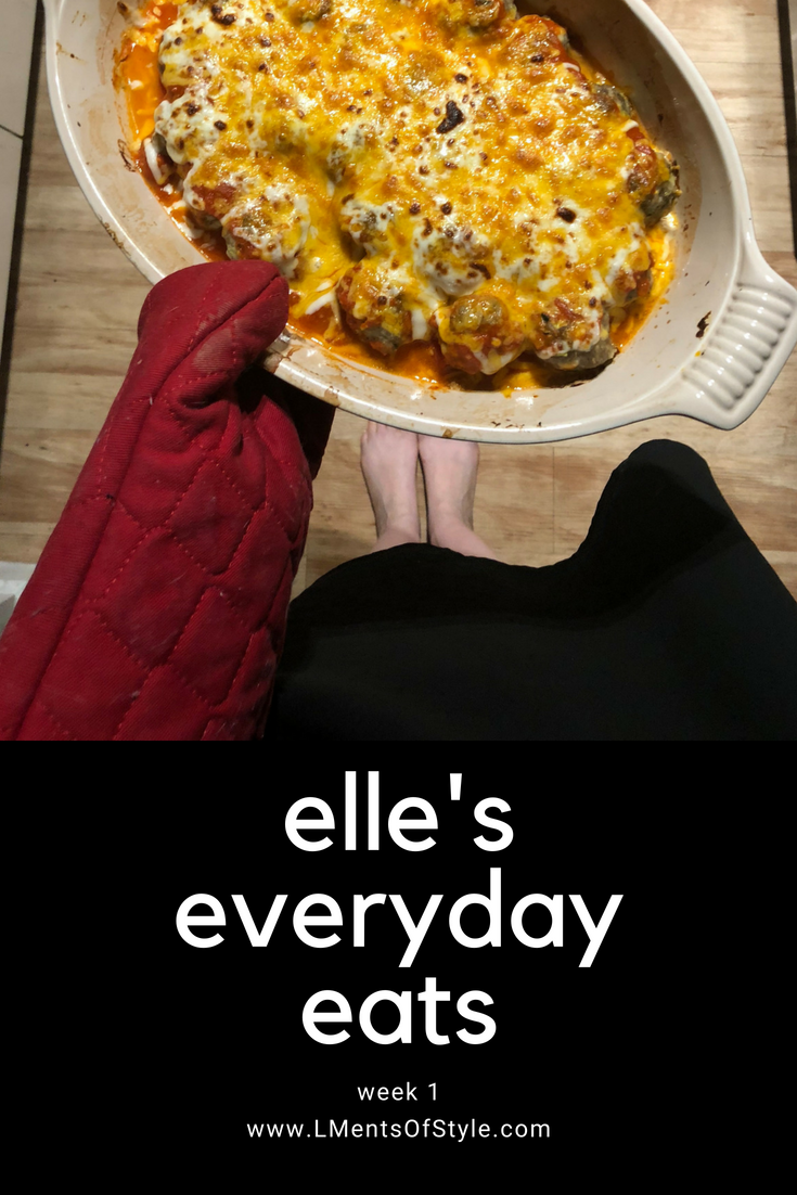 elle's everyday eats, easy dinner ideas, healthyish meals that actually taste good, sunday suppers