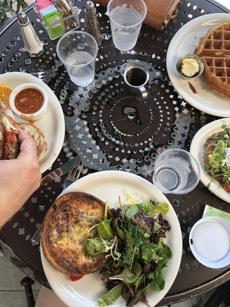 24 hours in la, what to do in la, where to eat in la, visit california, travel blogger, ellespann, lments of style