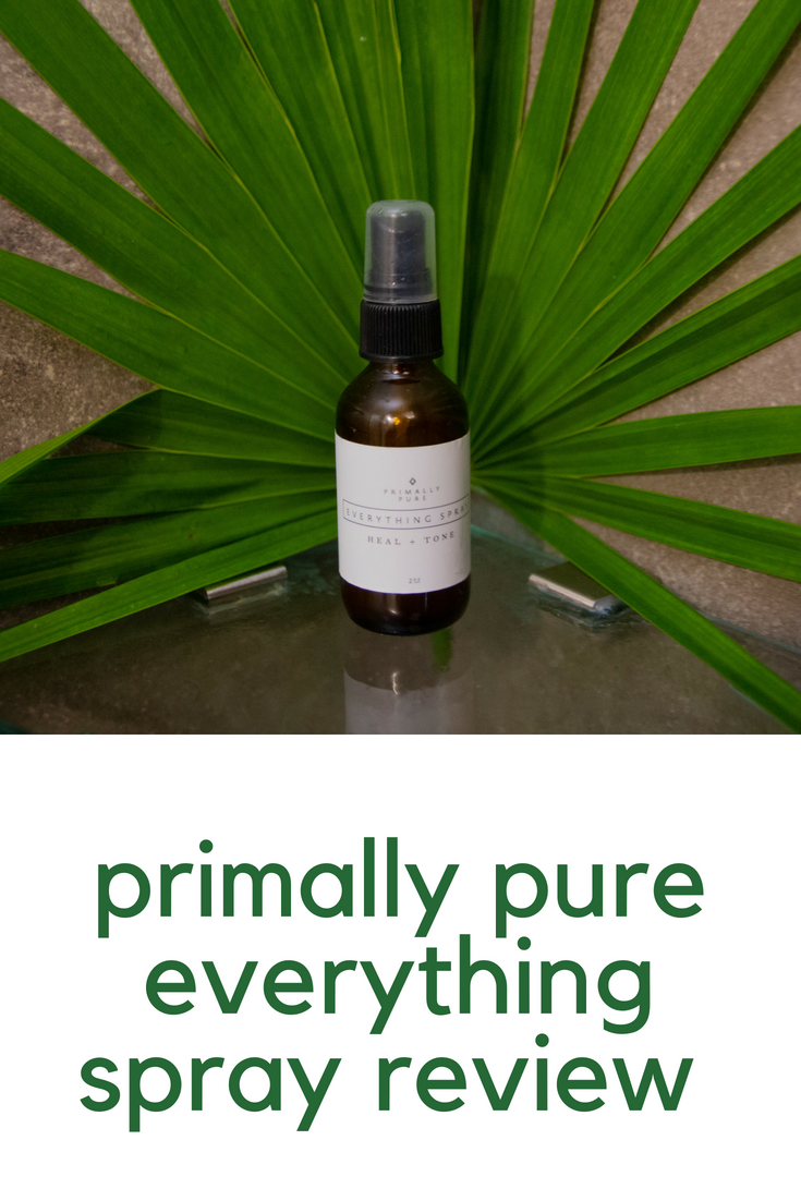 primally pure, primally pure everything spray review, toner that helps with breakouts, toner for acne prone skin, cruelty-free beauty, non-toxic skincare, lments of style, ellespann