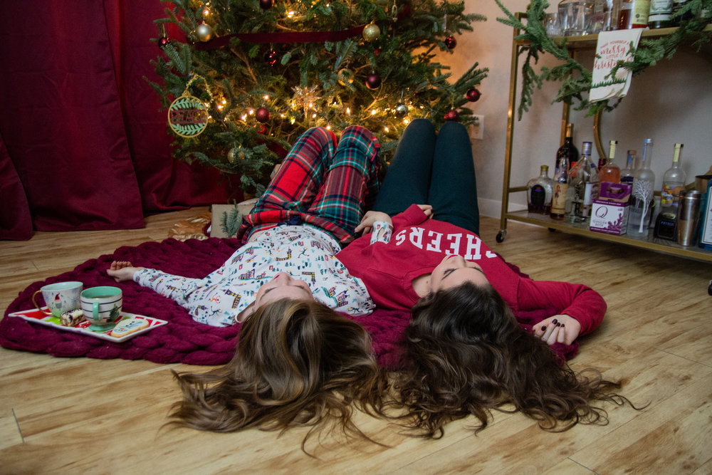 cute holiday pajamas, christmas pjs, aerie sleepwear, where to get cute christmas pajamas, christmas pajama round up