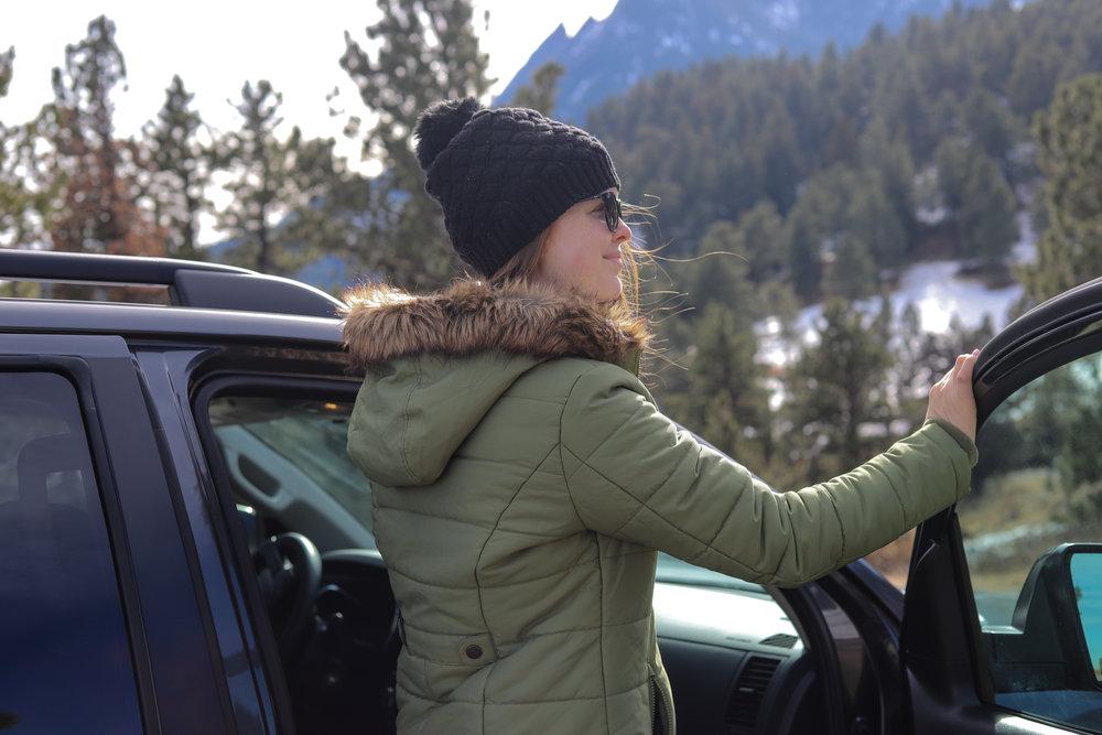 toyota sequoia review, #letsgoplaces, let's go places, colorado, denver, boulder, 4 wheel drive, best cars to rent in colorado