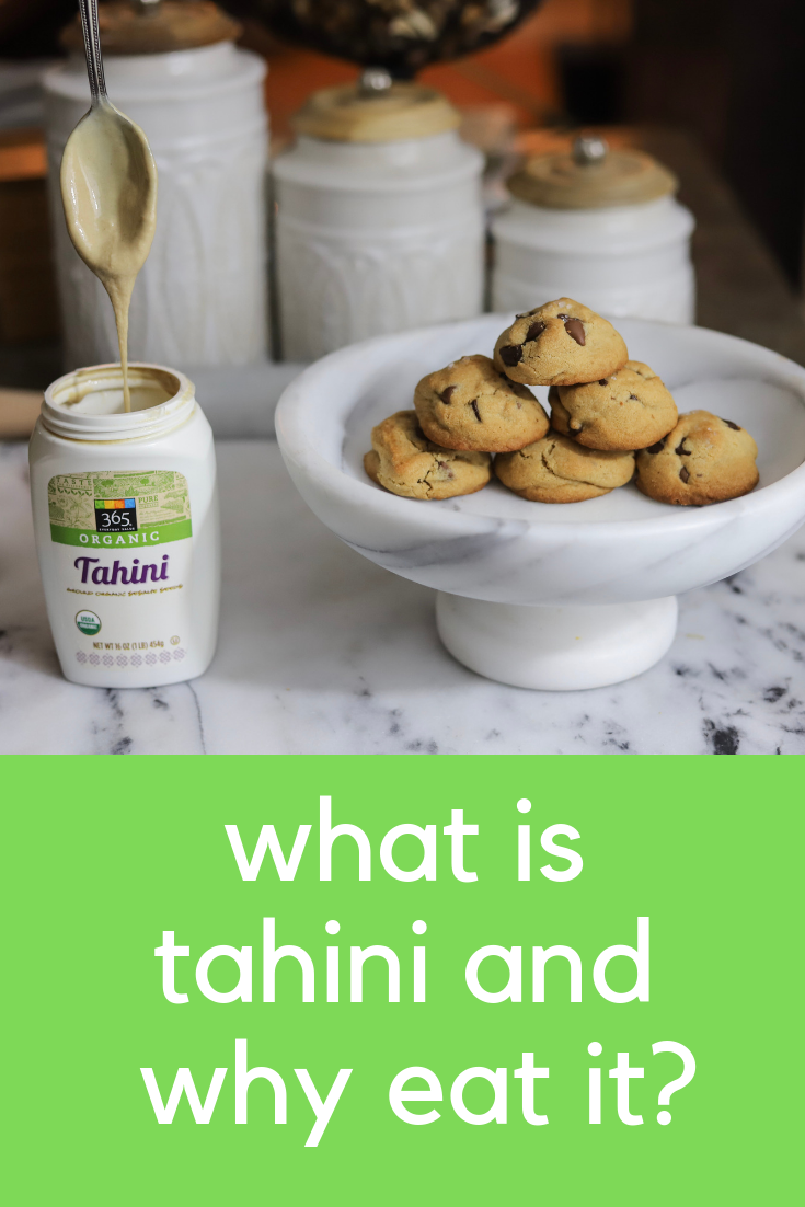 what is tahini and why eat it, benefits of tahini, sesame seeds, tahini recipes, cookies, lments of style, ellemulenos, how to use tahinii