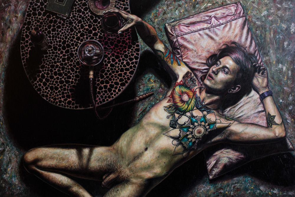 Self portrait as hedonist