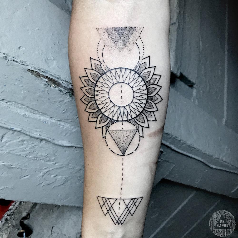 geometric floral stuff