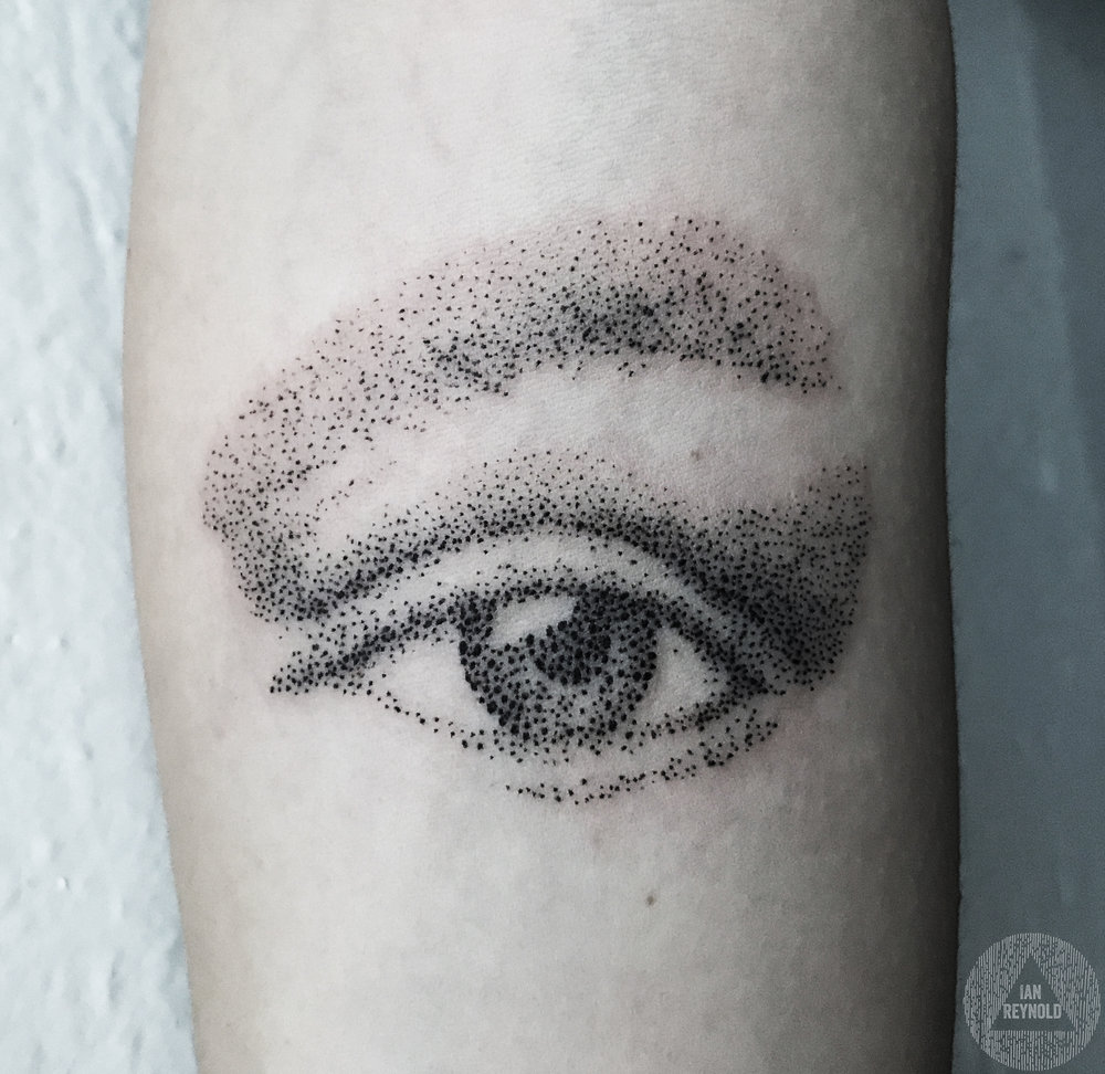 Pointillist Eye