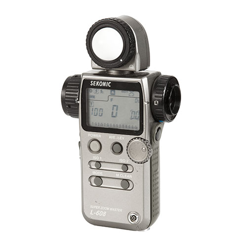 <p><strong>Sekonic Light Meter</strong>$20 per day<br>Sekonic L 608</p>