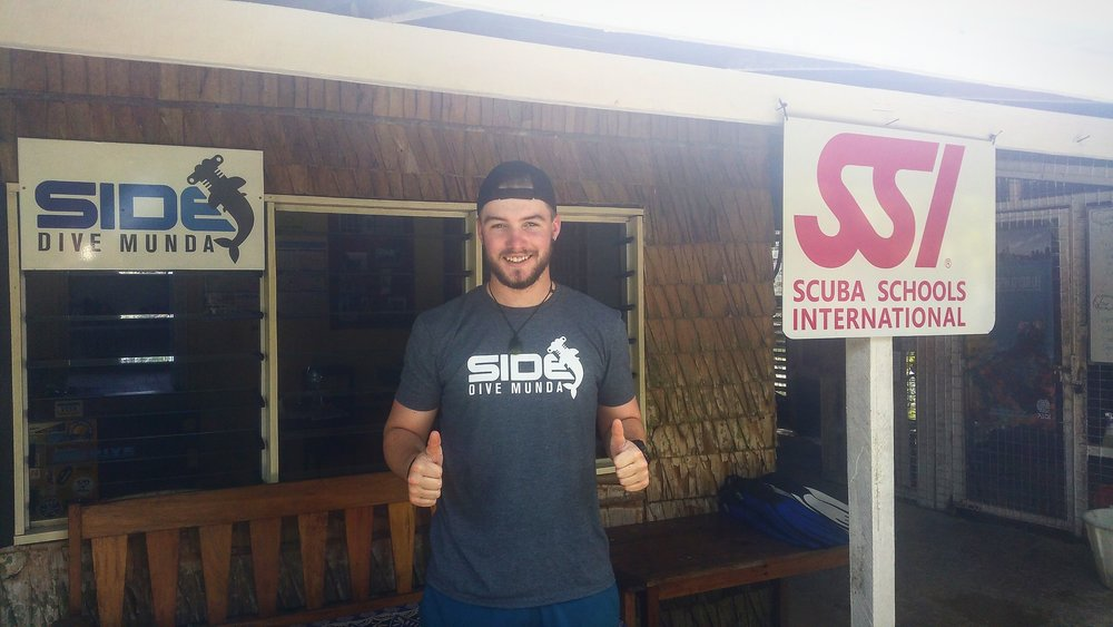 My name is Max, and I am from the Auckland University of Technology. Studying a Bachelors in Sport and Recreation, with a major in Outdoor Education, has given me the opportunity to come up and work with the crew at Dive Munda for a week, as part of an Industry Experience paper.   One of my projects is to get this blog up and running to give you first-hand accounts of the experiences had at Dive Munda.
