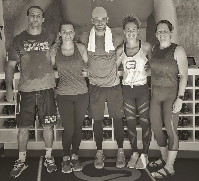 Thanks @caitlinnn_12 and @cyclebarlkn for another great sweat! . . #rockyourride #uprising #cyclebar #spin #fitness #sunday #sweat #speed #power #endurance #conditioning #lkn #lakenorman #alexisabeast