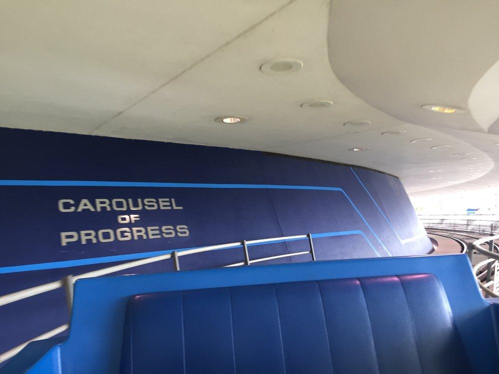 Carousel of Progress mural, in WDW's Fantasyland.