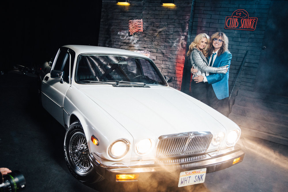 David Coverdale, and his beautiful wife Cindy Coverdale
