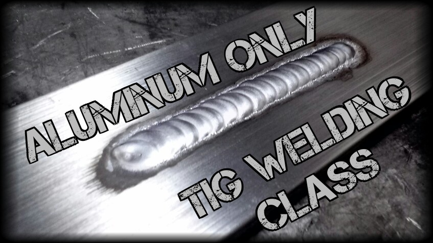 Aluminum TIG Welding Class - A 3 Hour Class Includes:- Advanced machine setup (AC current)- Advanced overview of AC functions (AC Balance, waves, frequency)- Understanding of different wave forms (sine, square, soft square, triangle)- Quick overview of aluminum - Aluminum welding techniques- Welding of aluminum (lots of it)Please check each listing for class specifics.