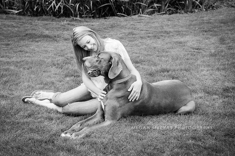 houston great dane with owner