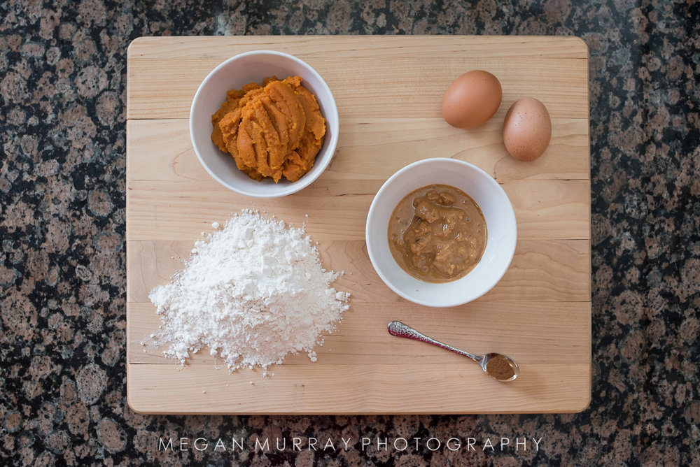 natural ingredients for pumpkin peanut butter dog treats