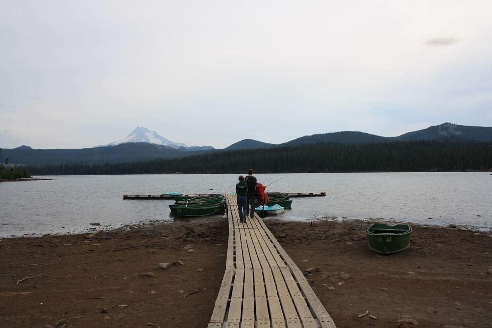 Eurovan to a Lake