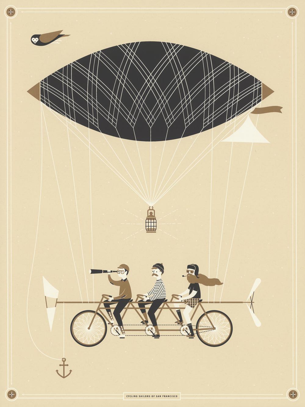 Cycling Sailors of San Francisco