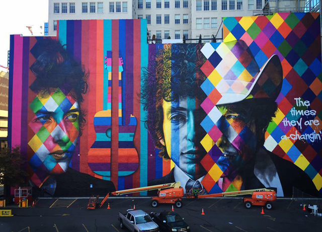 Photo by Eduardo Kobra: http://eduardokobra.com