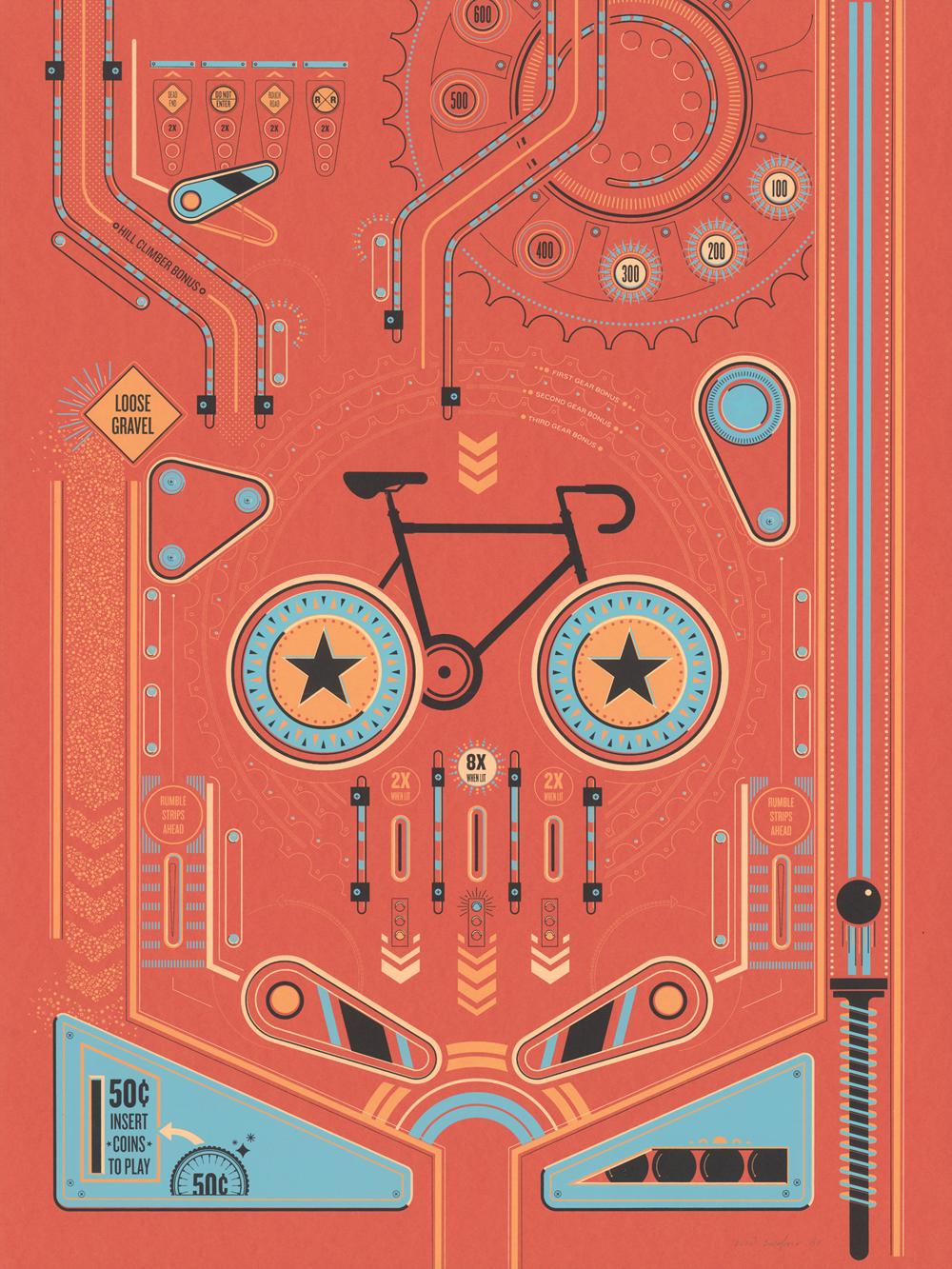 Cycling Pinball