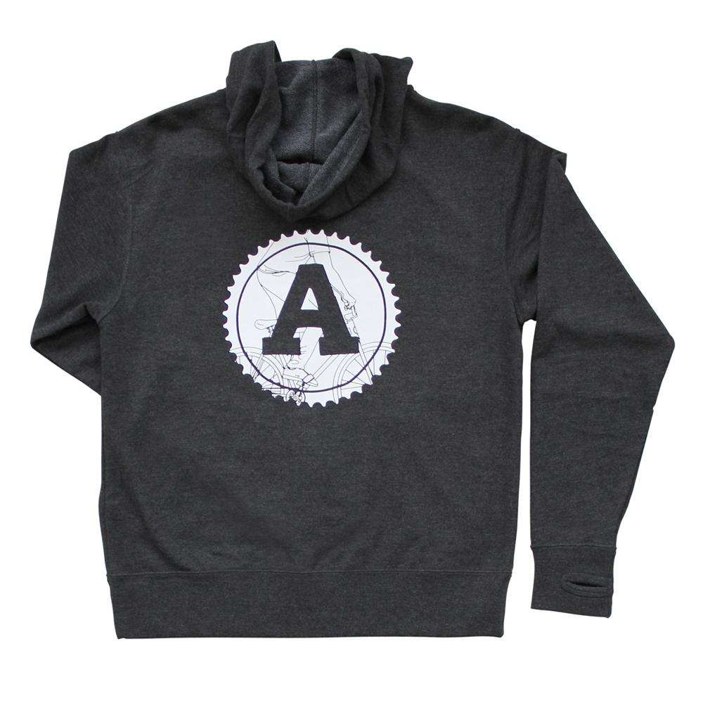 Zip Hoodie: Grey *SALE $38*