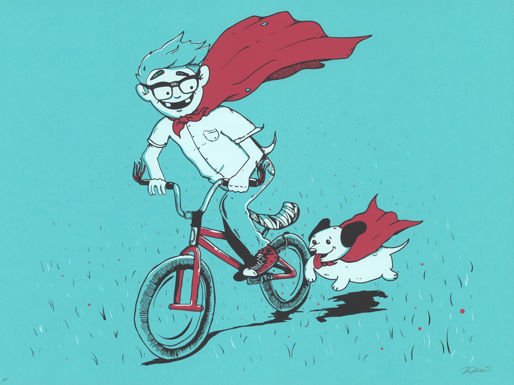 Amazing Alex and Super Dog!