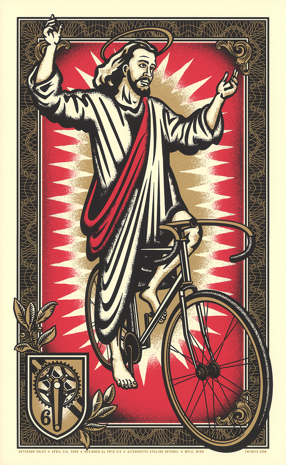 On the Third Day, He Rode