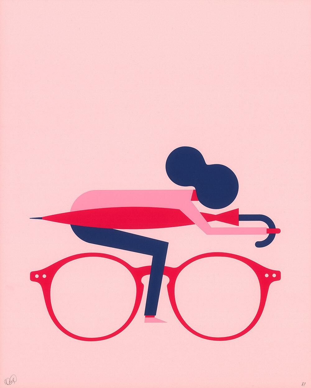 Commuter Girl