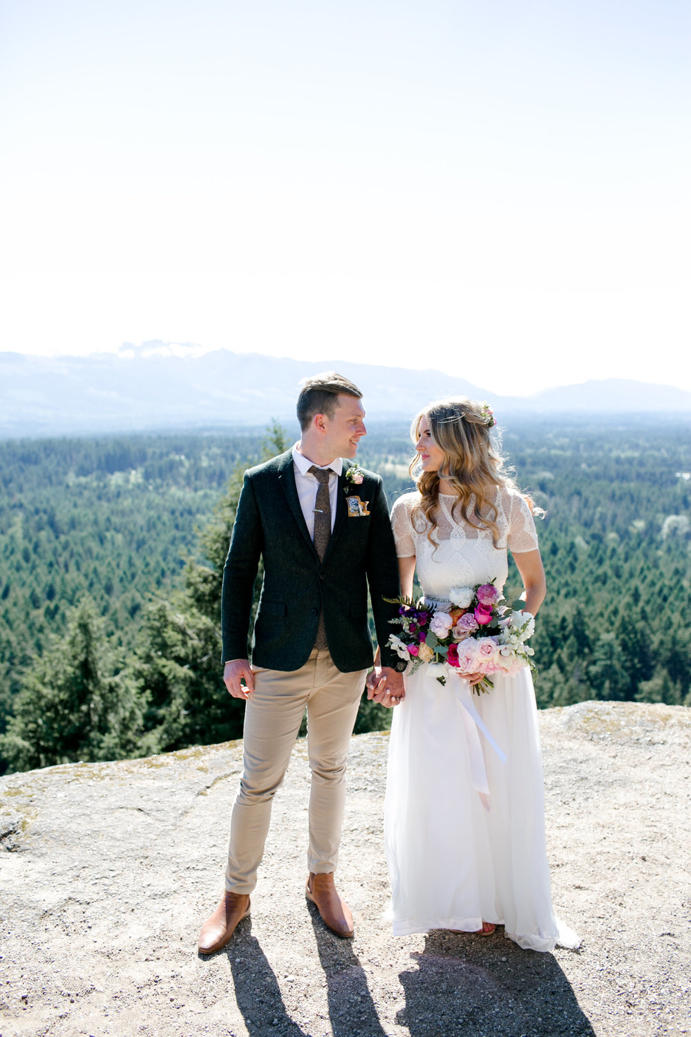 M + M - Romantic Boho Wedding in Coombs, Vancouver Island