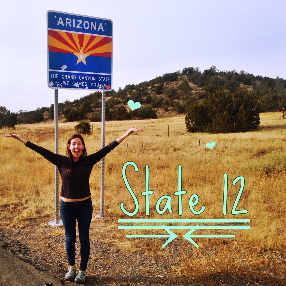 State 12! Bye Bye New Mexico!